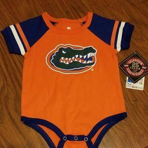 NWT Florida Gators onesie